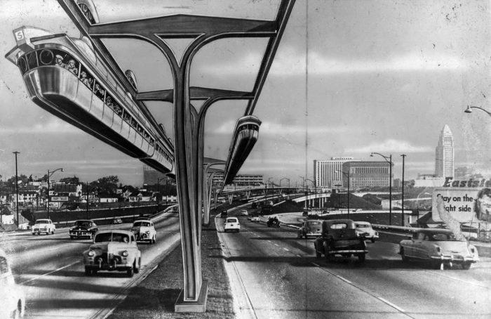 monorail LA 1954