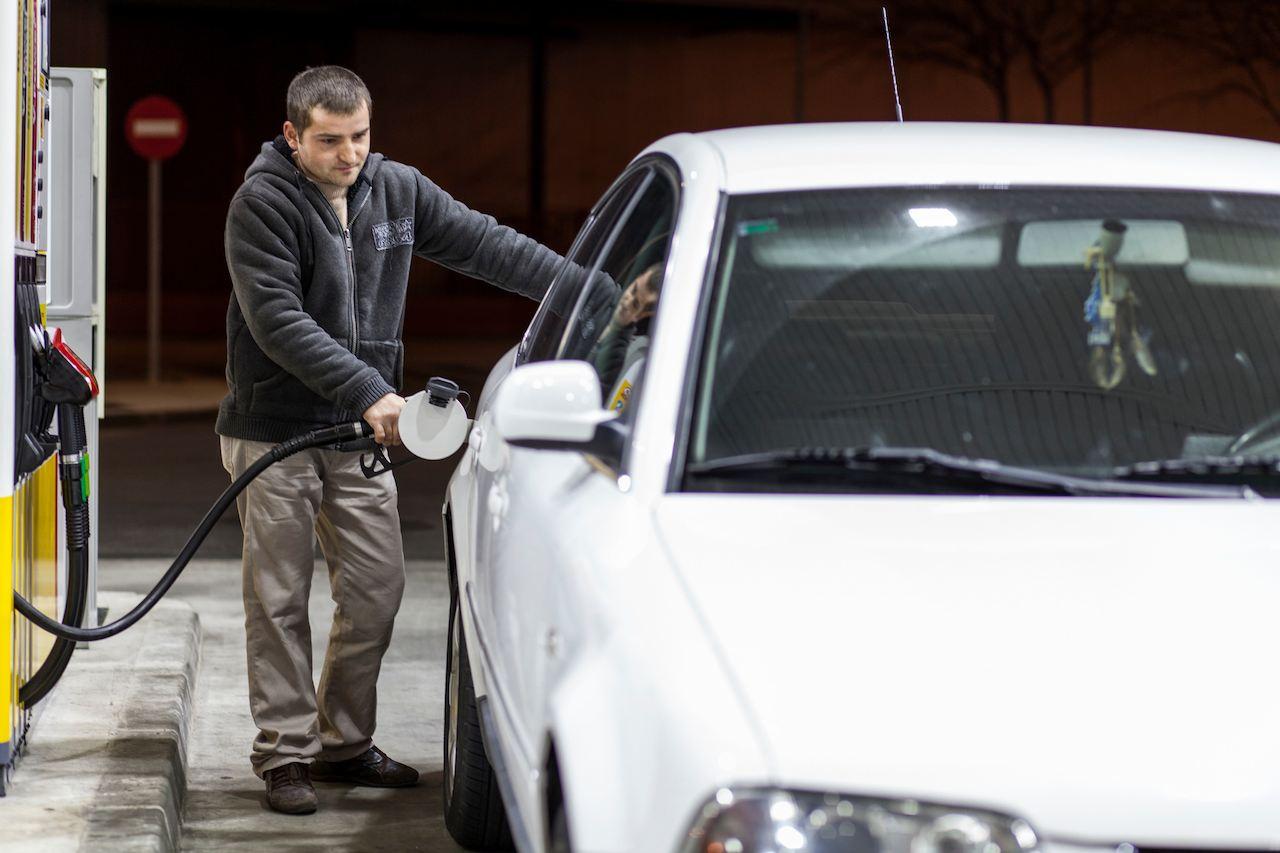 El precio de la gasolina en british petroleum