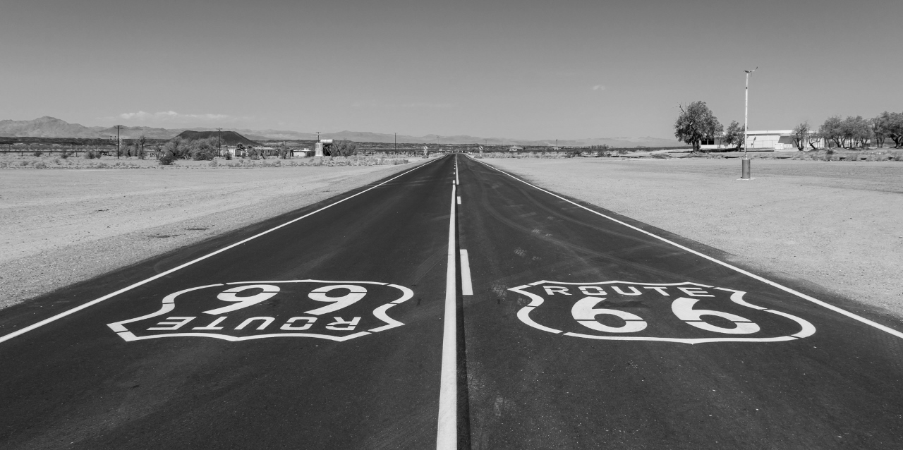 Amboy, Kalifornien, USA, Hist. Route 66