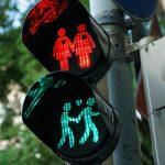 semaforos con arte urbano en londres