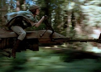 speederbike Leia
