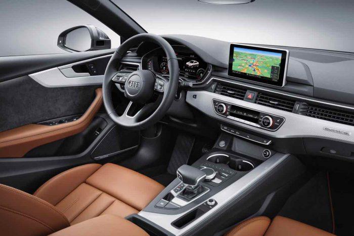 Audi A5 Sportback 2017 interior