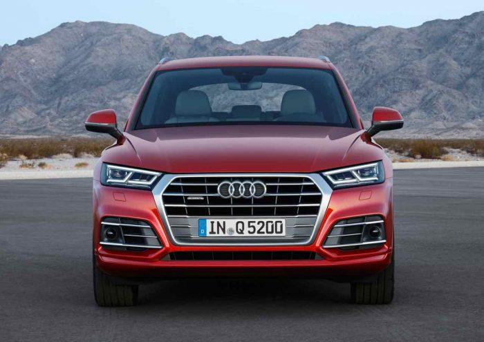 Audi Q5 2017 frontal
