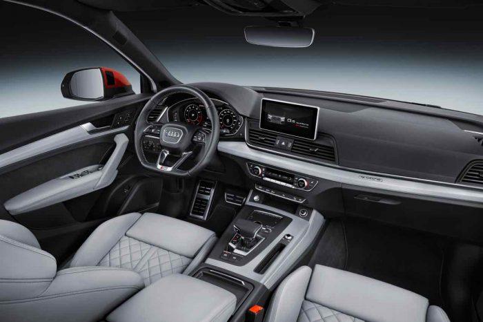 Audi Q5 2017 interior