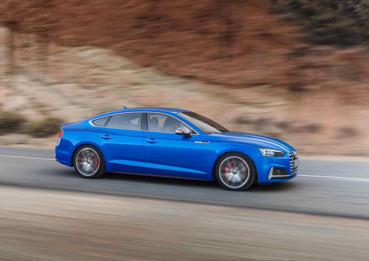 Audi S5 Sportback 2017 dinamica