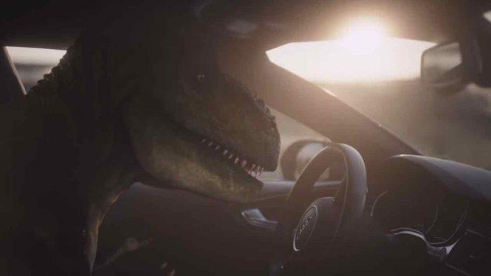 Audi T-Rex anuncio