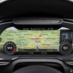 Audi virtual cockpit: Navigation map