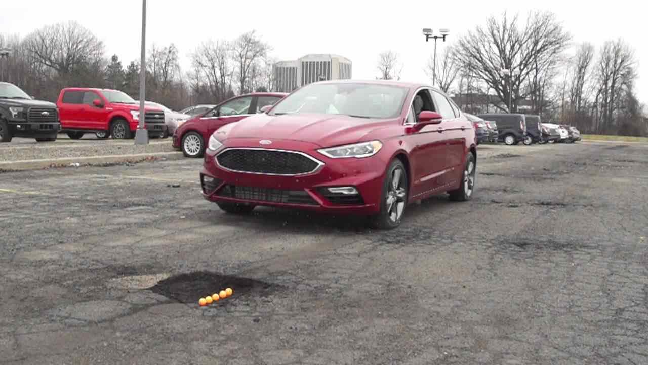 Ford Fusion pothole mitigation – 2