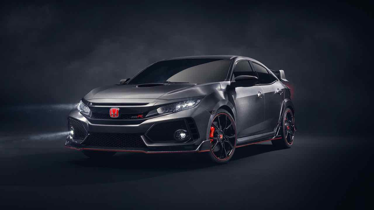 Honda Civic Type R Prototype 2017 – 1