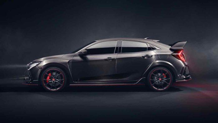 Honda Civic Type R Prototype 2017 - 3