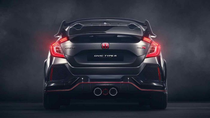 Honda Civic Type R Prototype 2017 - 5