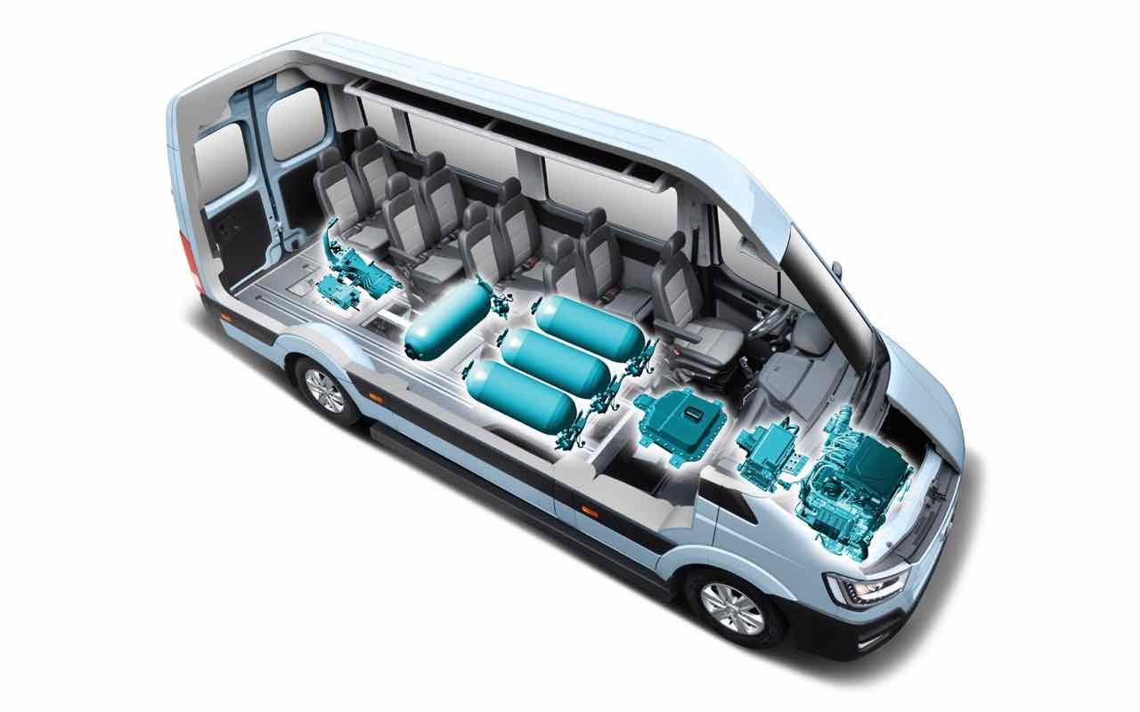 Hyundai H350 Fuel Cell Concept 2016 – 2