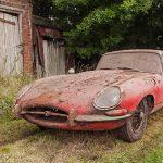 Jaguar E-Type 3.8 Coupe 1964 barn find - 1
