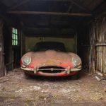 Jaguar E-Type 3.8 Coupe 1964 barn find - 2