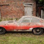 Jaguar E-Type 3.8 Coupe 1964 barn find - 3