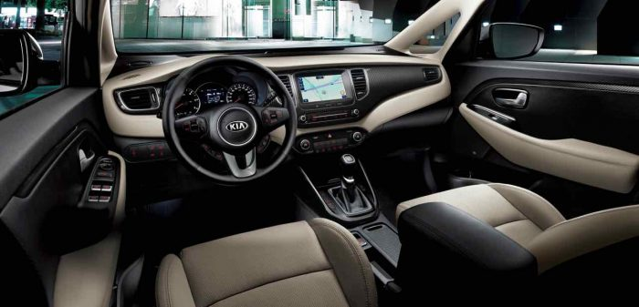 Kia Carens 2017 interior - 1