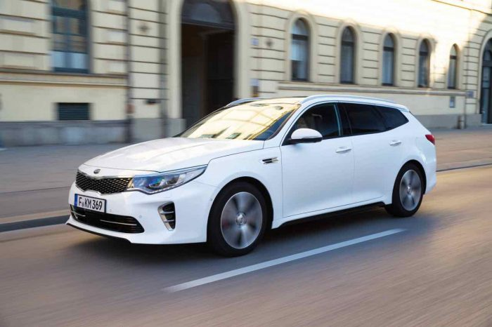 Kia Optima GT Sportswagon 2017 - 2
