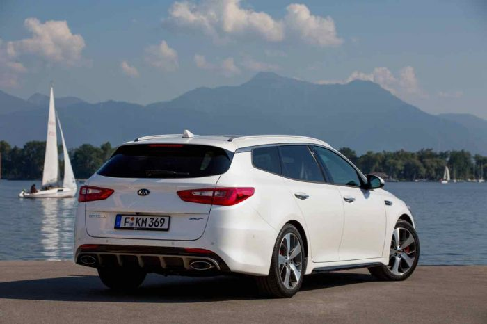 Kia Optima GT Sportswagon 2017 - 3