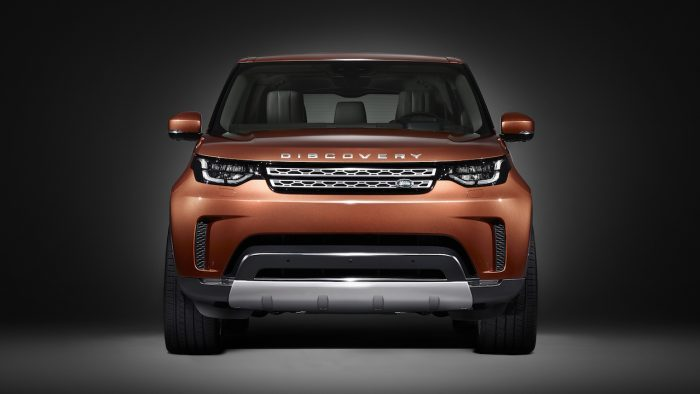 Land Rover Discovery 2017 frontal