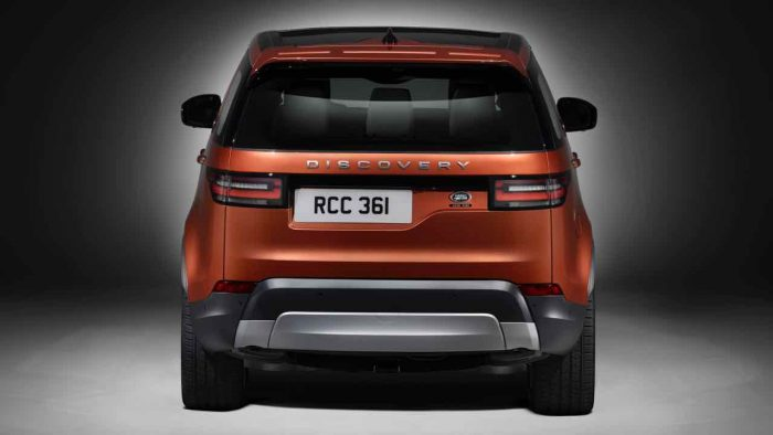 Land Rover Discovery 2017 trasera - 1