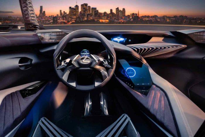 Lexus UX Concept 2016 interior