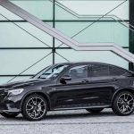 Mercedes-AMG GLC 43 4MATIC Coupé, Outdoor, 2016; Exterieur: Obsidianschwarz ;Kraftstoffverbrauch kombiniert: 8,4 l/100 km, CO2-Emissionen kombiniert: 192 g/km  Mercedes-AMG GLC 43 4MATIC Coupé, outdoor, 2016; exterior: obsidian black; Fuel consumption, combined: 8.4 l/100 km, CO2 emissions, combined: 192 g/km
