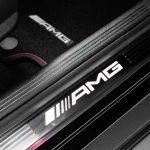 "Mercedes-AMG GLC 43 4MATIC Coupé, Outdoor, 2016; Interieur: Einstiegsleisten mit ""AMG"" Schriftzug weiß beleuchtet ;Kraftstoffverbrauch kombiniert: 8,4 l/100 km, CO2-Emissionen kombiniert: 192 g/km  Mercedes-AMG GLC 43 4MATIC Coupé, Outdoor, 2016; interior: white-illuminated door sill panels with ""AMG"" lettering ; Fuel consumption, combined: 8.4 l/100 km, CO2 emissions, combined: 192 g/km"