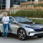 Dr. Dieter Zetsche, Vorsitzender des Vorstands der Daimler AG und Leiter Mercedes-Benz Cars am Generation EQ  ;  Dr. Dieter Zetsche, Chairman of the Board of Management of Daimler AG and Head of Mercedes-Benz Cars with the Generation EQ;