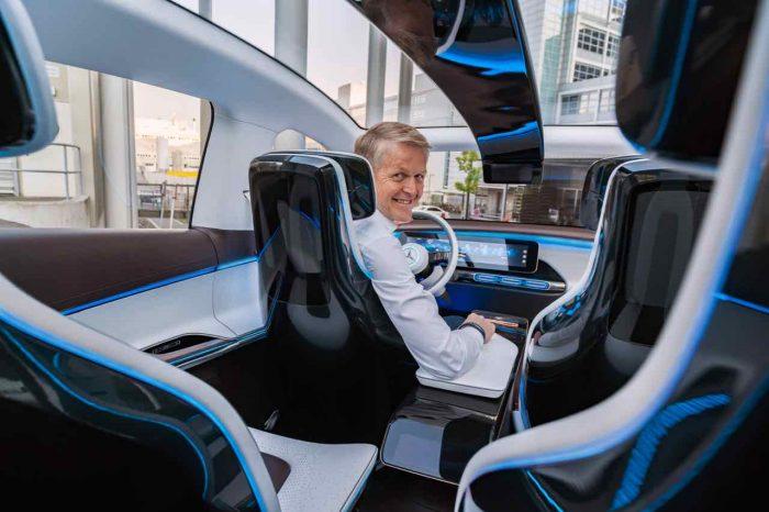 Prof. Dr. Thomas Weber, Vorstandsmitglied der Daimler AG, Konzernforschung und Mercedes-Benz Cars Entwicklung im Generation EQ ; Prof. Dr. Thomas Weber, Member of the Board of Management of Daimler AG, Group Research and Mercedes-Benz Cars Development in the Generation EQ;