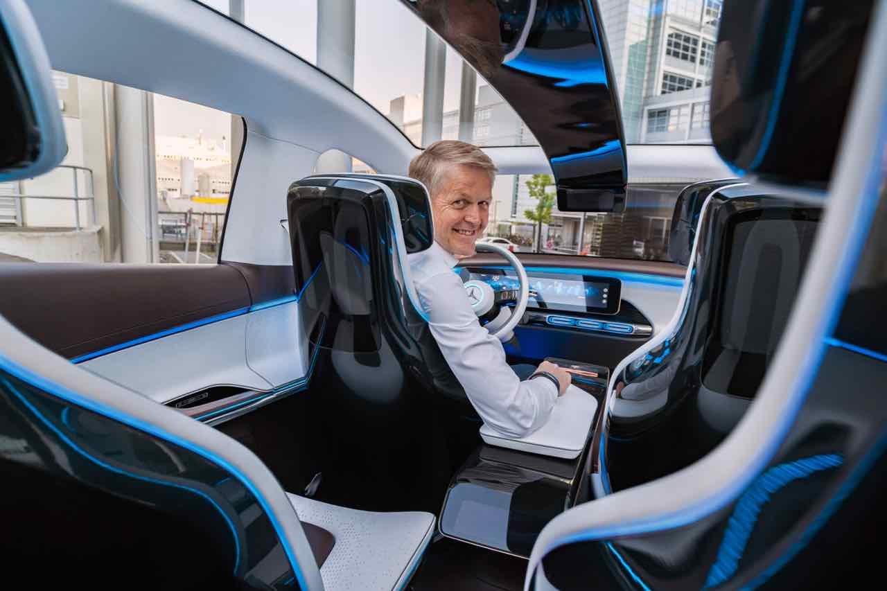 Mercedes generation eq la electrificaci n que viene for Interieur concepts