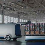 Mercedes-Benz Vision Van – Interior, One-Shot Loading ;  Mercedes-Benz Vision Van – Interior, One-Shot Loading;