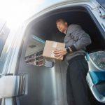 Mercedes-Benz Vision Van – Exterior, Parcel Delivery ;  Mercedes-Benz Vision Van – Exterior, Parcel Delivery;
