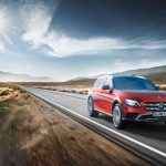 Mercedes-Benz E-Class All-Terrain; outdoor; 2016; exterior: designo hyacinth red metallic; Fuel consumption combined: 5.1 l/100 km; Combined CO2 emissions: 137 g/km