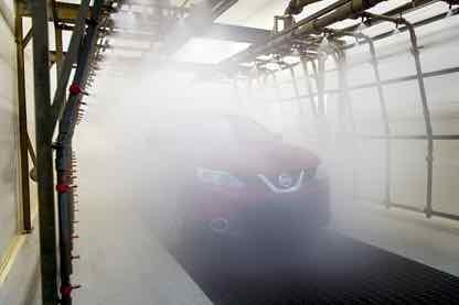 Nissan ensayos estanqueidad – 1