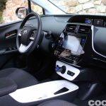 Toyota Prius 2015 interior prueba 11