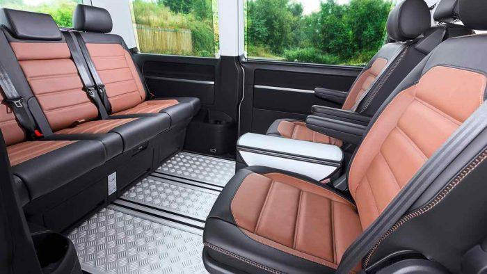 Volkswagen Multivan Panamericana 2017 interior - 1