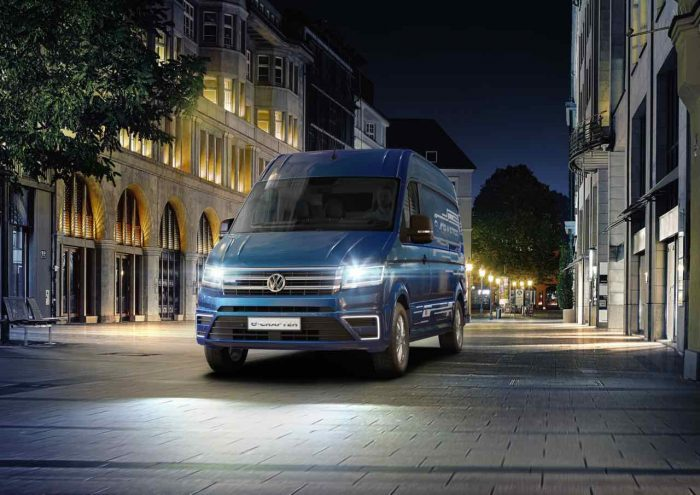 Volkswagen e-Crafter Concept 2016 - 2