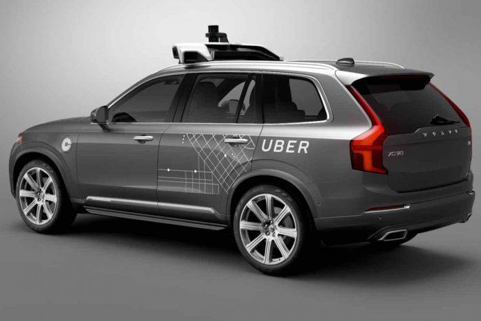 Volvo XC90 autonomo Uber - 1
