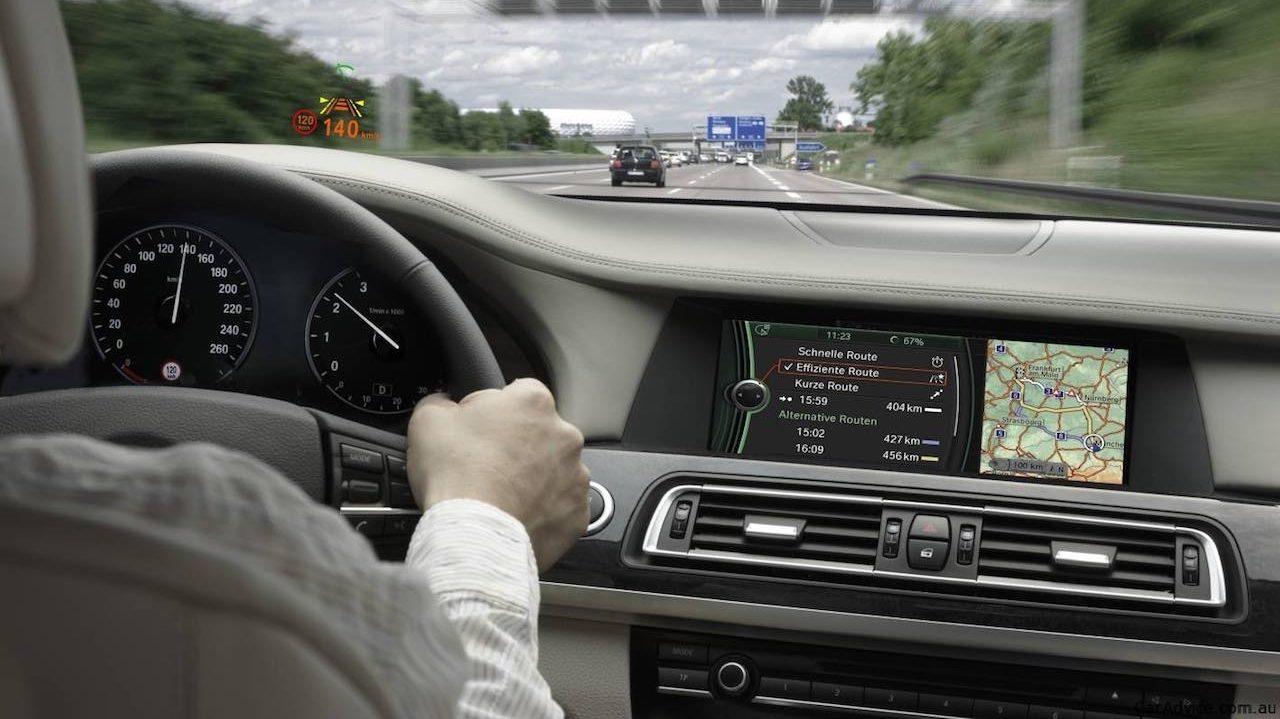 interior BMW Autobahn conduccion