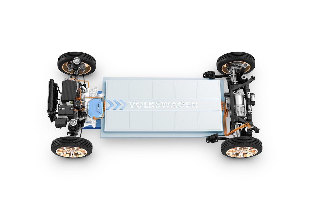 plataforma MEB Volkswagen Budd-e