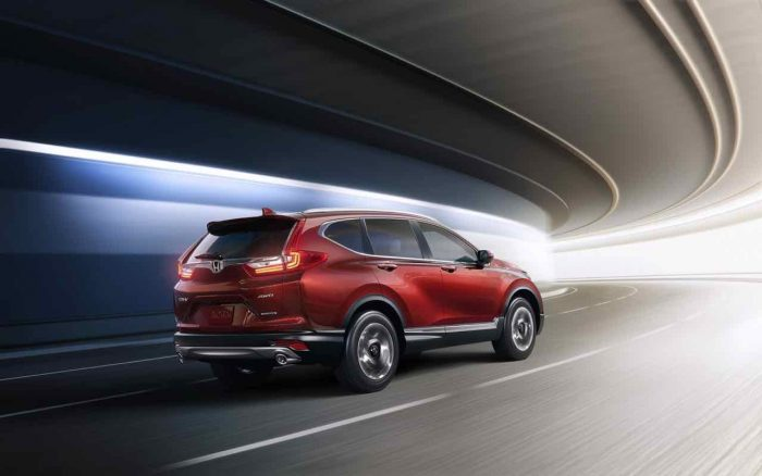 2017 Honda CR-V USA - 5