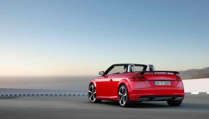 Audi TT Roadster s line competition 2016 - 2