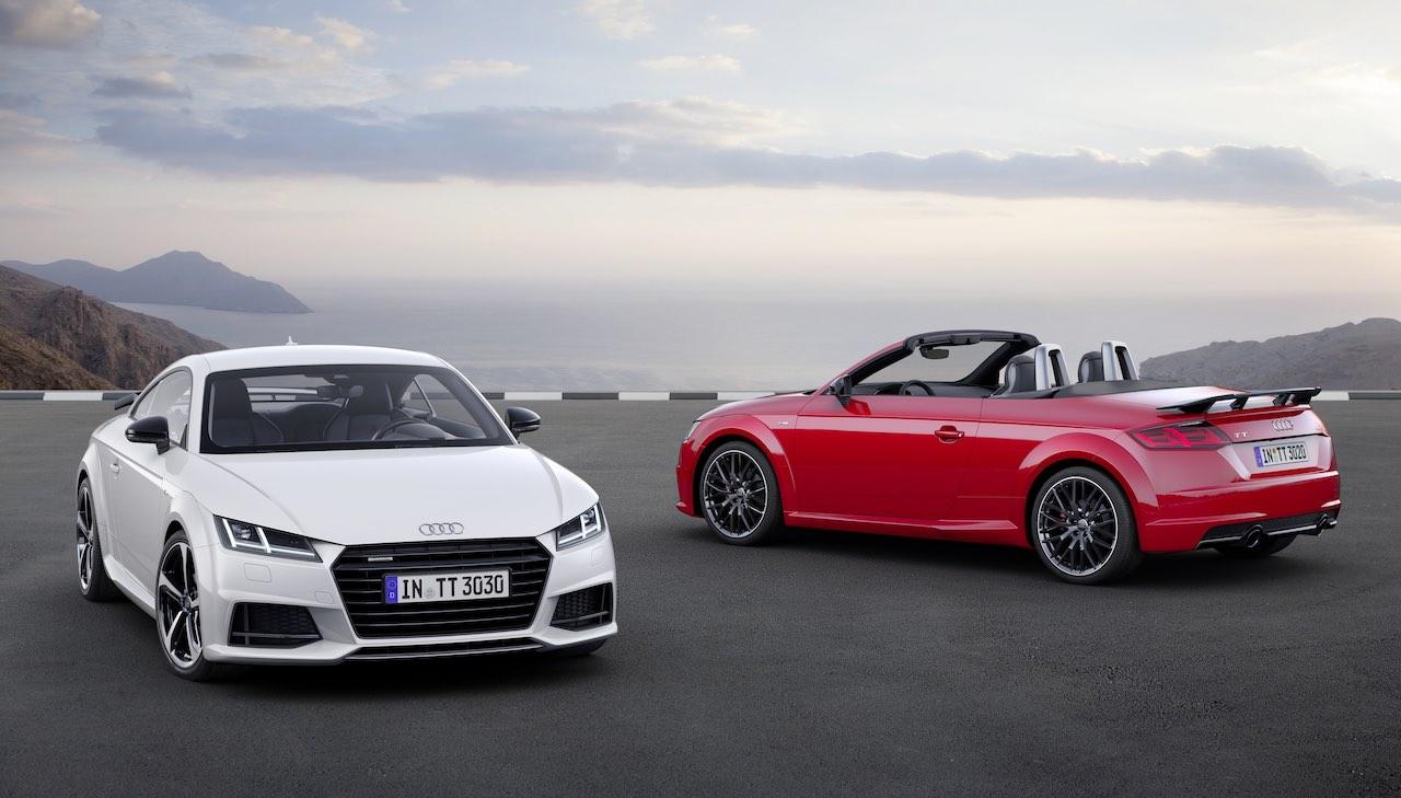 Audi TT s line competition y Audi TT Roadster s line competition 2016