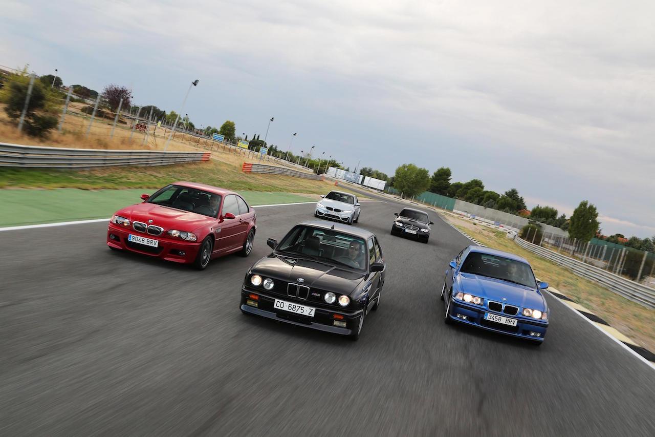 BMW M3 5 generaciones
