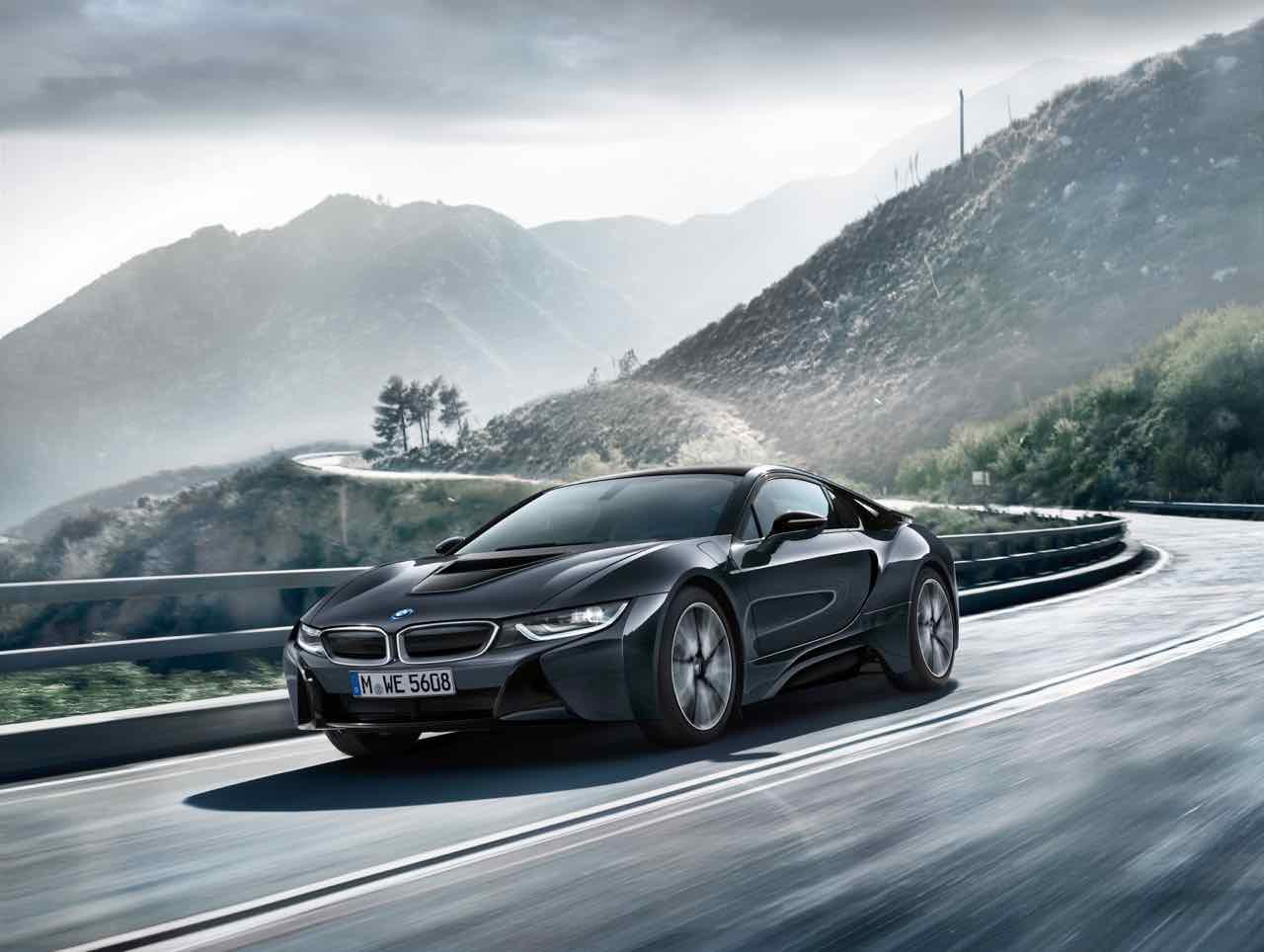 BMW i8 Protonic Dark Silver Edition 2016 – 1