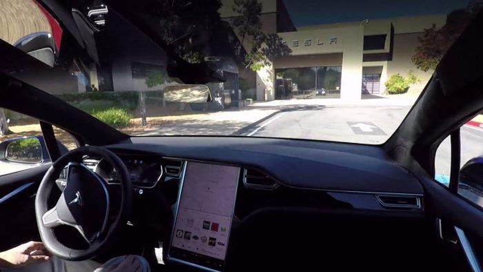 Captura vídeo demostración Tesla