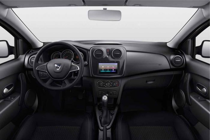 Dacia Logan 2017 interior - 1