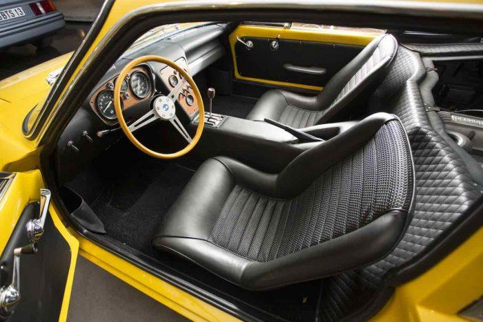 De Tomaso Vallelunga 1968 interior - 2