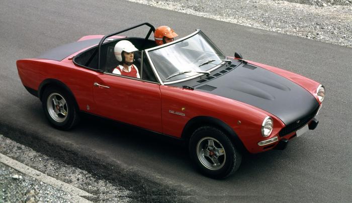 Fiat 124 Abarth 1972