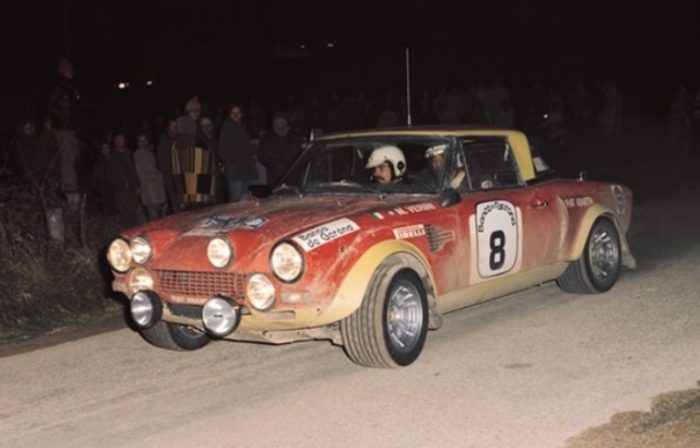 Fiat 124 Spider Abarth 1972 rally